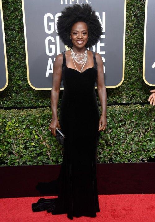 Golden Globes 2018 Fashion: Best and Worst Dressed Celebrities viola davis