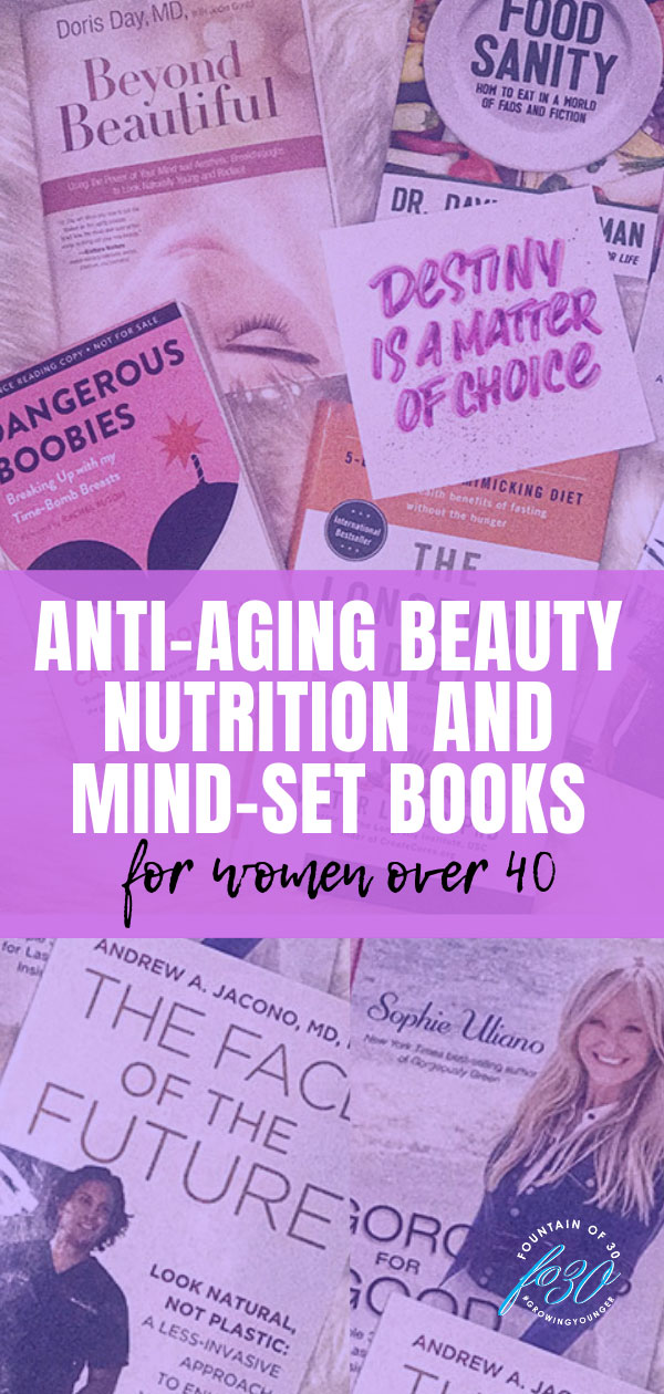 antiaging books for women over 40 fountainof30