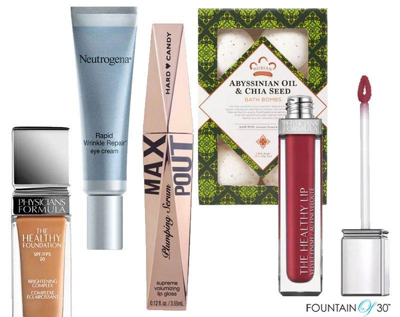 drugstore beauty finds fountainof30