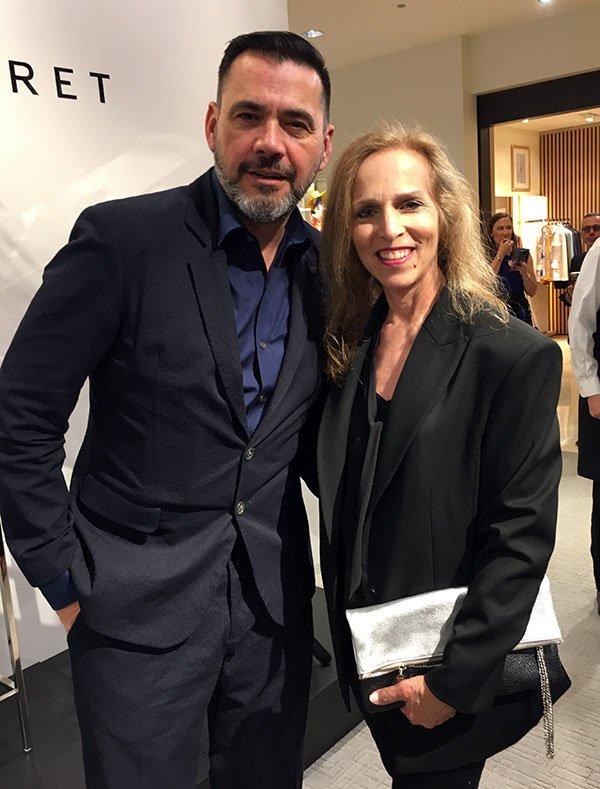 Roland Mouret and Carol Calacci Chicago Neiman Marcus 2018 fountain of 30