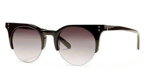 Alessandra Ambrosio detailed denim look for less sunglasses