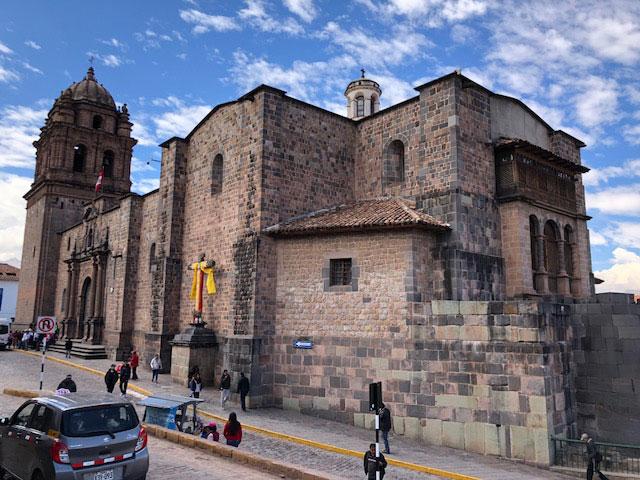 travel to Peru Cusco Cathedral