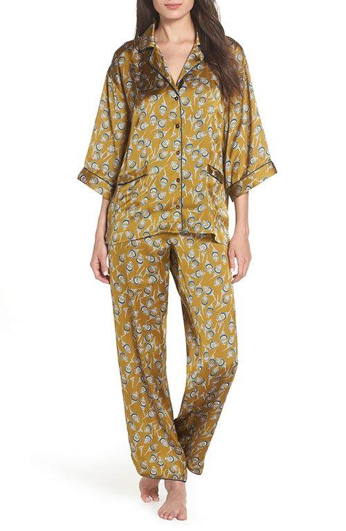 Sarah Jessica Parker loungewear look for less pajamas