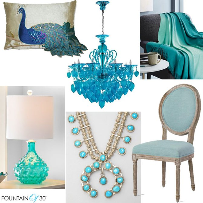 teal vs turquois home decor fountainof30