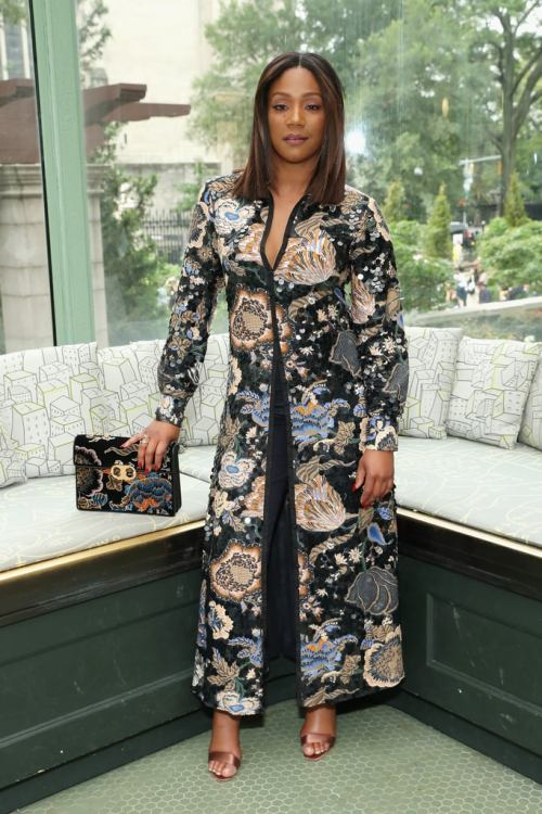celebrities-in-the-front-row-Tiffany Haddish at Tory Burch