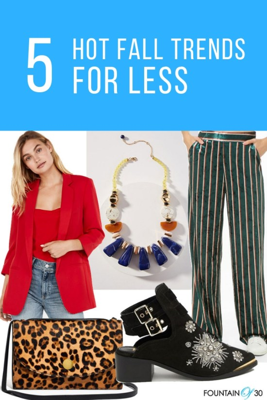 5 Fall Trends For Less
