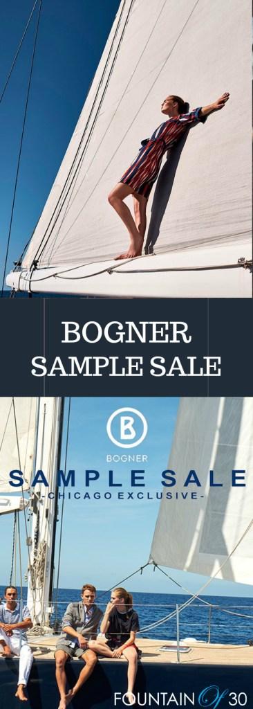 Bogner Sample Sale in chicago