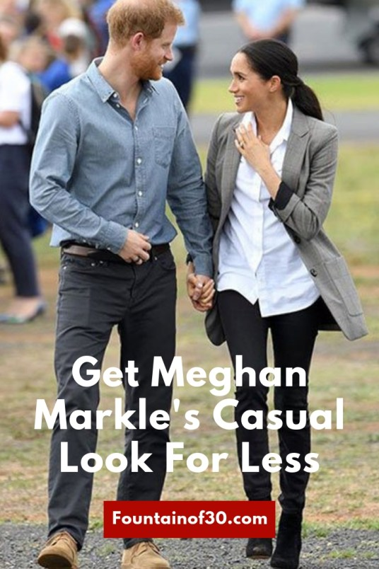 How To Get Meghan Markel's Casual Look For Less