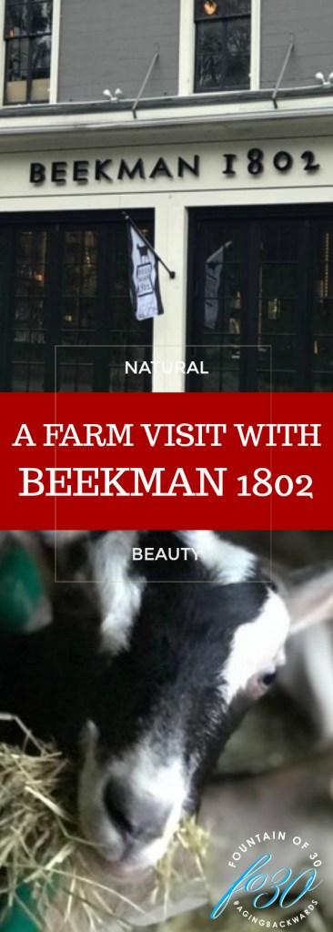 Beekman 1802 Farm Visit