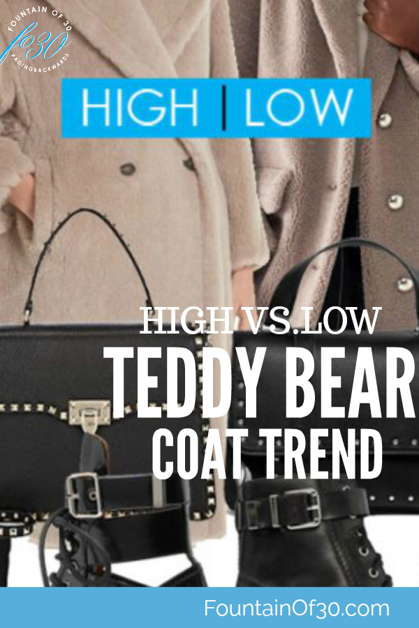 High VS. Low Teddy Bear Coat Trend - How To