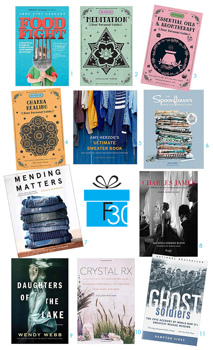 Holiday Gift Guide Books self help do it yourself FountainOf30