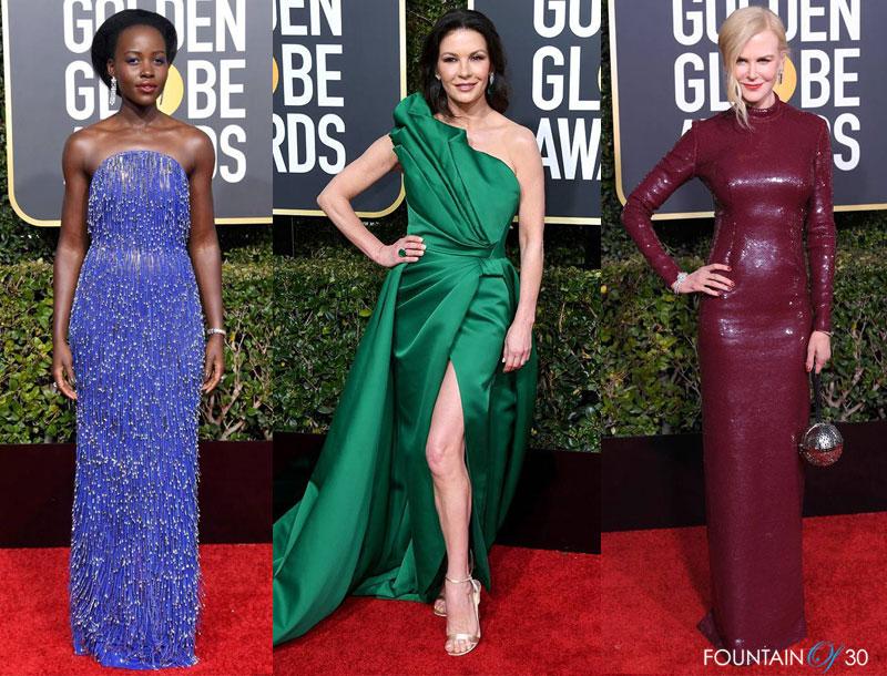 2019 Golden Globes Fashion