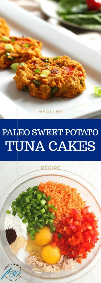 paleo sweet potato tuna cakes recipe
