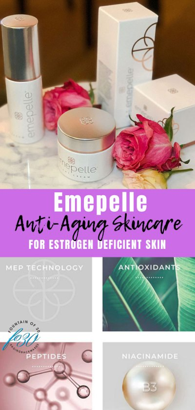 emepelle anti aging skincare for estrogen deficient skin
