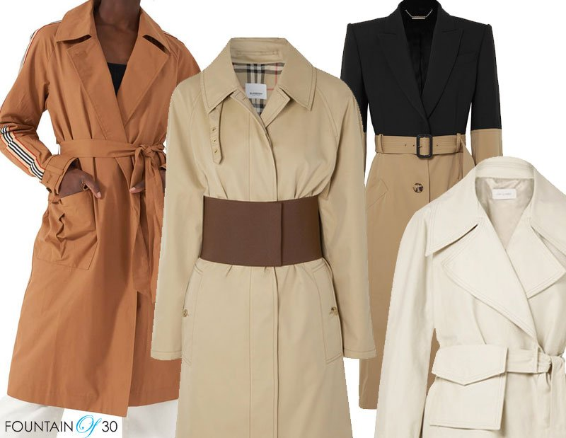 modern trench trend for spring 2019