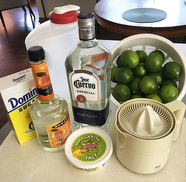best margaritas for a crowd ingredients fountainof30