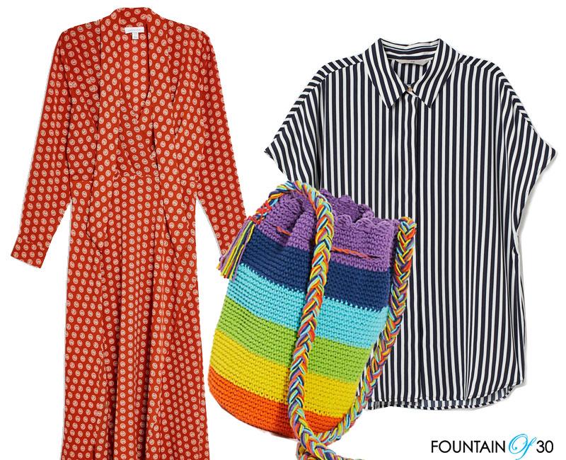 rainbow colors stripes fashion for less