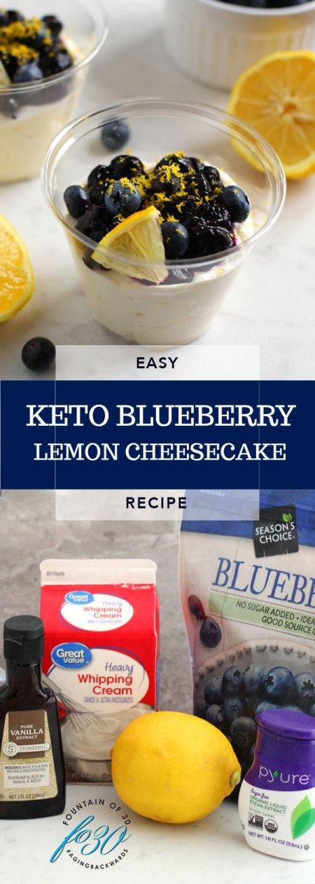 keto blueberry lemon cheesecake recipe