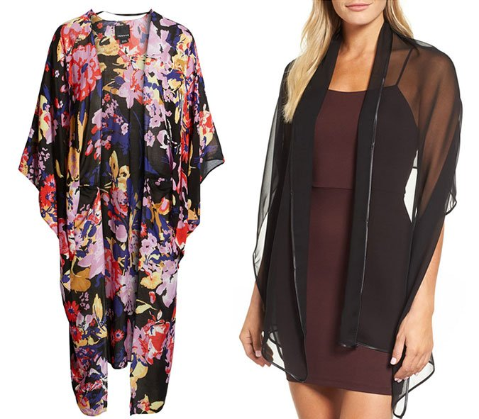 What to Wear To A Wedding wraps and shawls floral and sheer