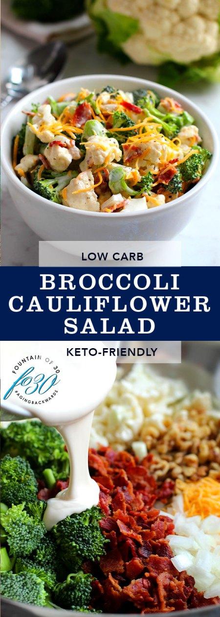 broccoli cauliflower recipe fountainof30