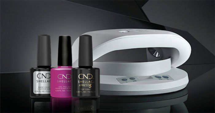 Powder vs gel nails cnd shellac and uv lamp fountainof30