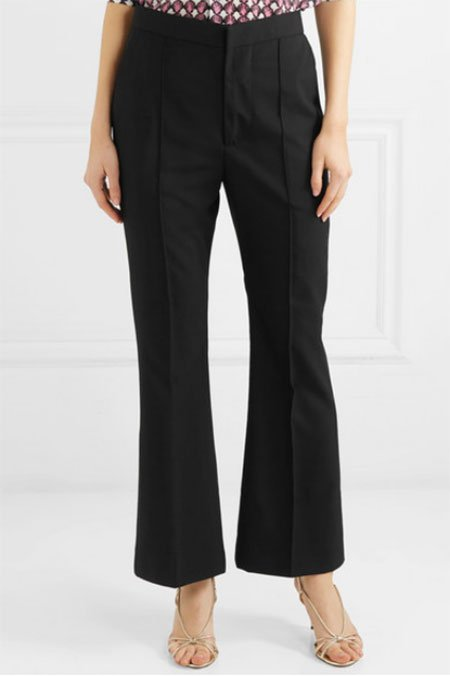 Maximize Your Favorite Body Features black flared pants