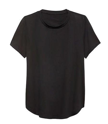 Jessica Biel Casual style black T-Shirt fountainof30
