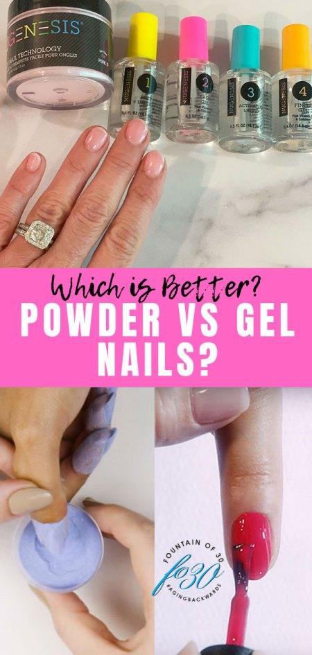 powder vs gel nails