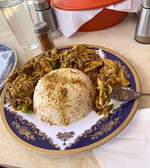 Egyptian Chicken Schwarma