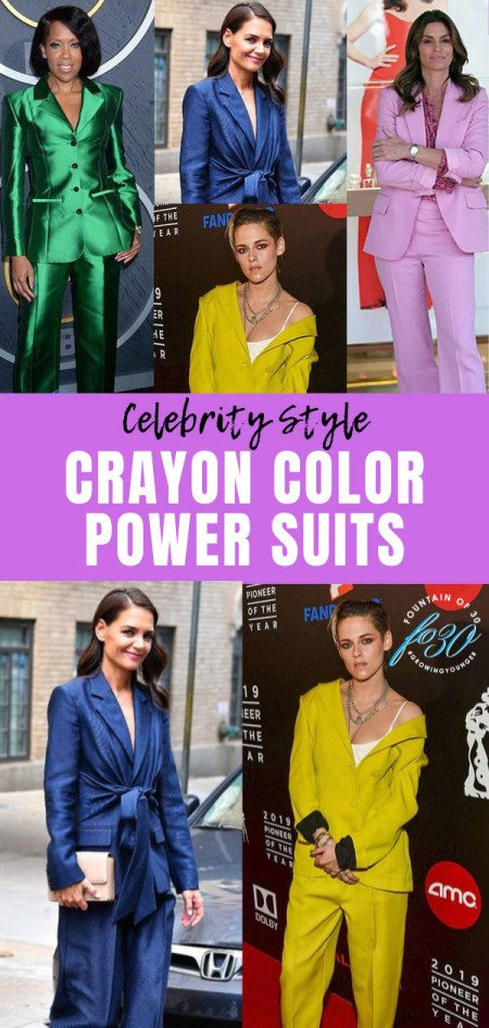 celebrities in color power suits fountainof30