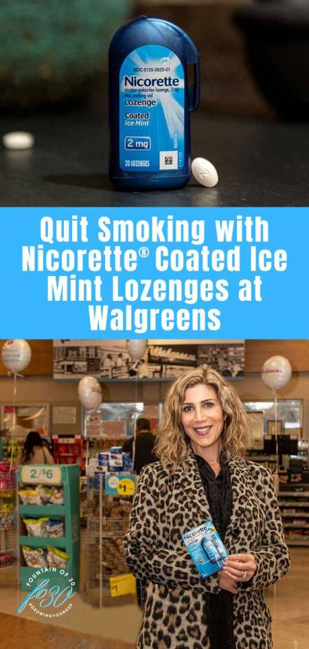 Quit Smoking with Nicorette® Coated Ice Mint Lozenges at Walgreens