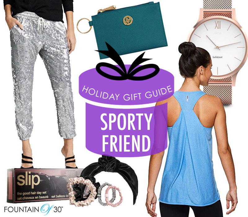 holiday gift guide sporty friend fountainof30