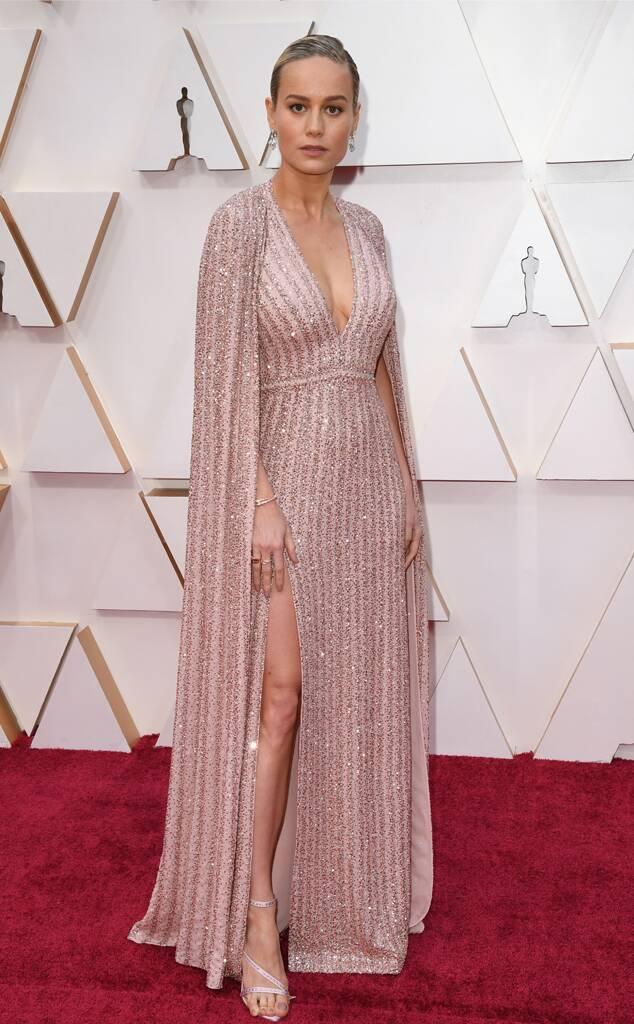 Brie Larson in Celine by Hedi Slimane