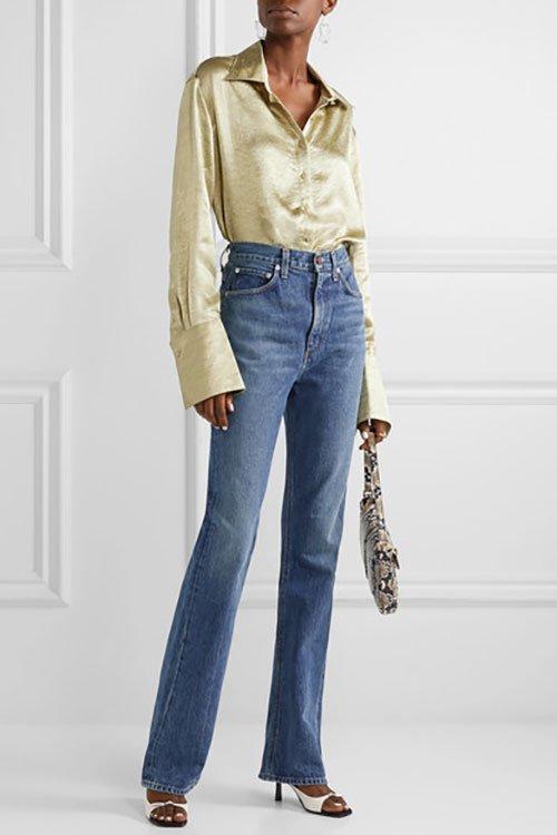 Hiigh waisted jeans fountainof30