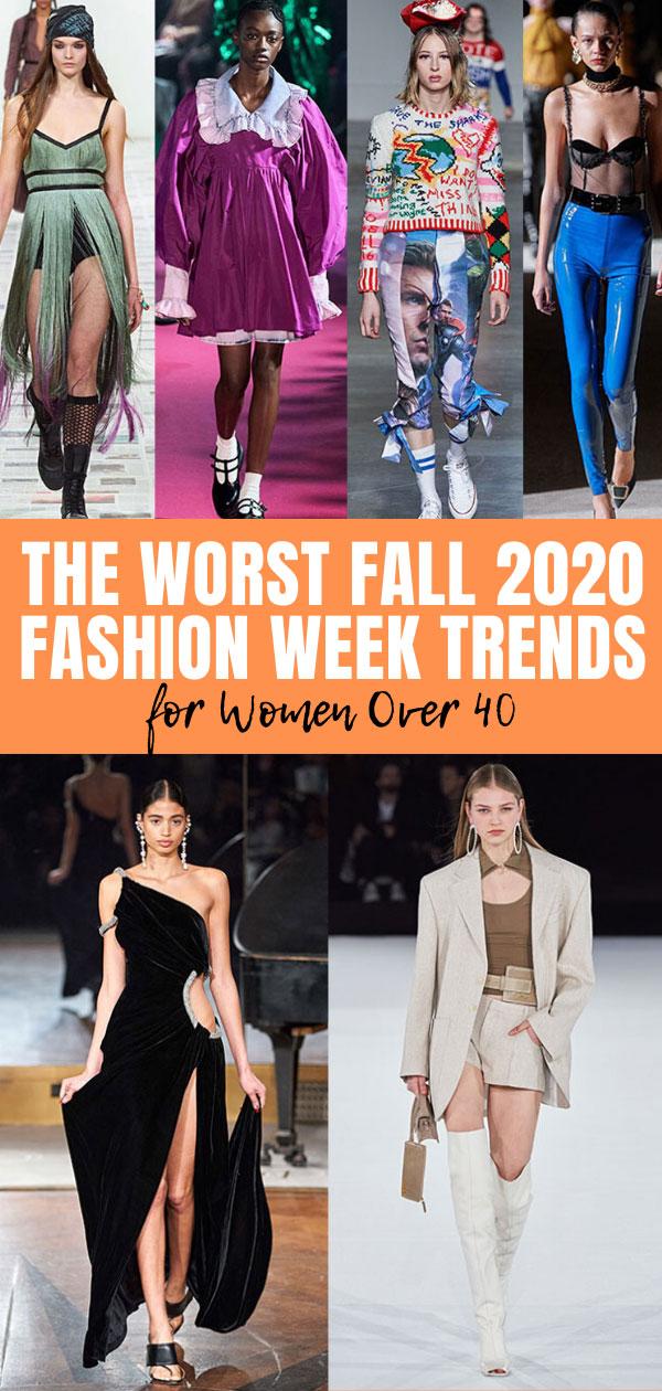 worst fall 2020 fashion trends fountainof30