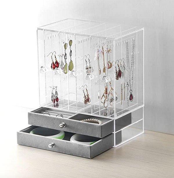Acrylic Jewelry Organizer fountainof30