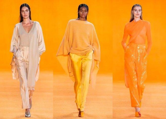 casual luxury pants Sally Lapointe Spring 2020 RTW fountainof30