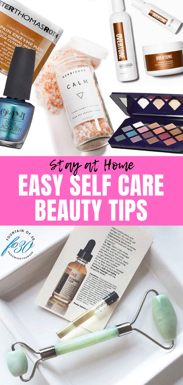 self care beauty tips fountainof30