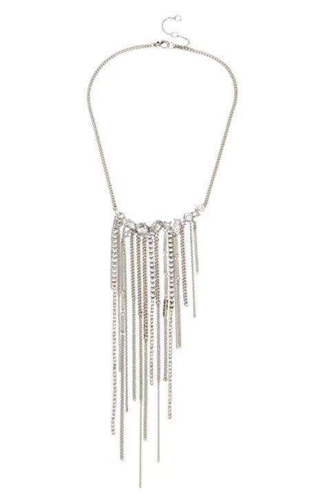 ALLSAINTS Fringe Necklace best for zoom