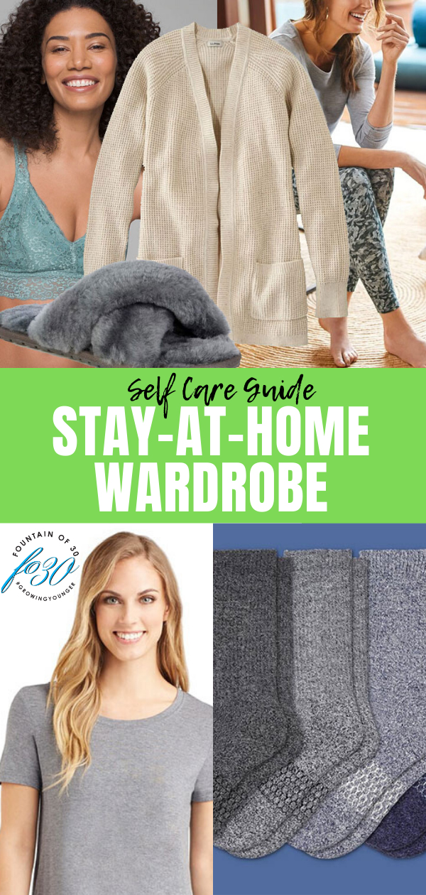 self care stay at home wardrobe fountainof30