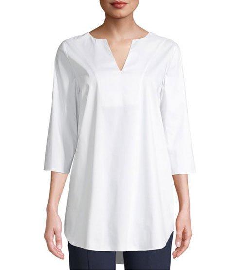 walmart desinger collection white C. Wonder tunic