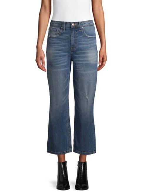 shop walmart designer fashion cropped blue jeans fountainof30