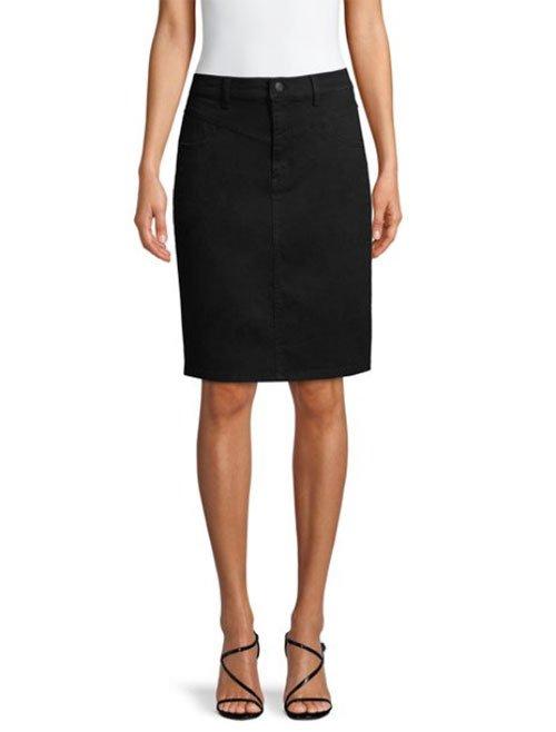 walmart designer fashion black jeans skirt fountainof30