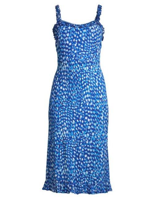 shop walmart designer fashion Sofia Jeans by Sofia Vergara blue sun dress