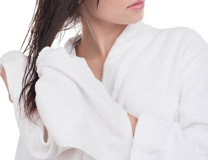 towel dry hair to air dry hair fontainof30