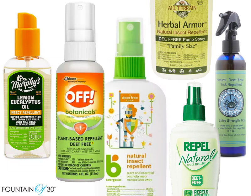 what is deet free bug repellent fountainof30