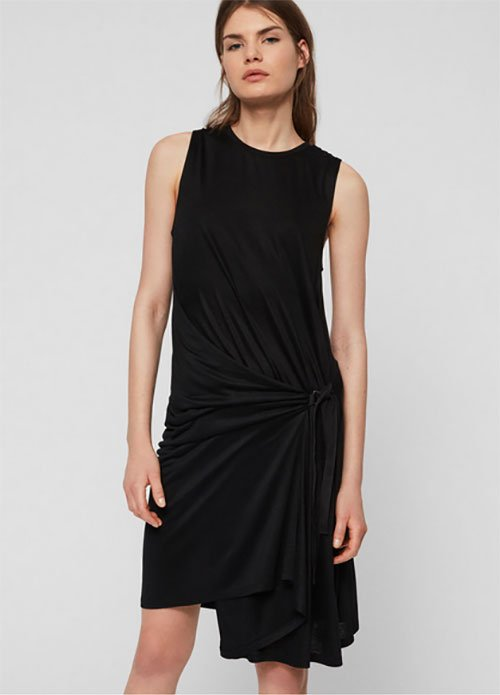 AllSaints Lisen Dress Architectural sundress