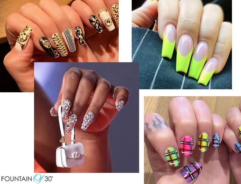 Celebrity Nail Art Design