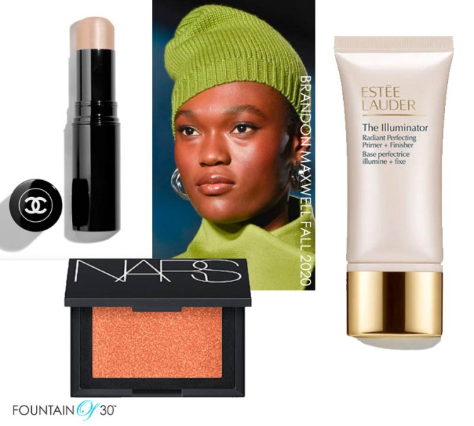 fall makeup trends glow fountainof30