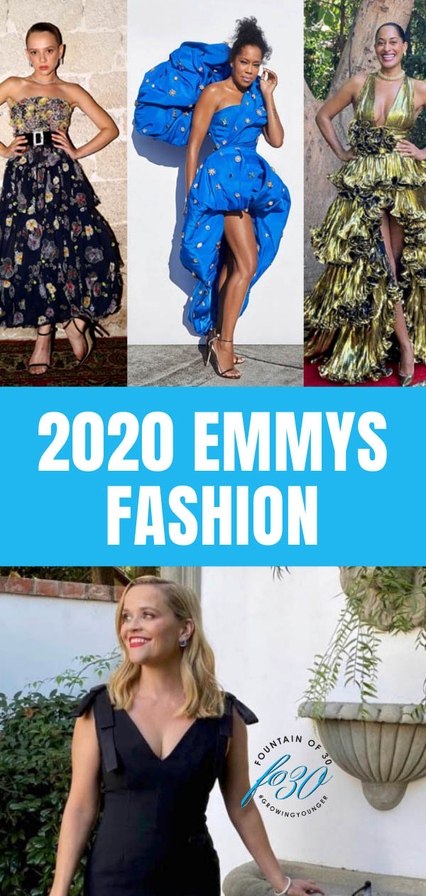 emmy awards 2020 fashion fountainof30